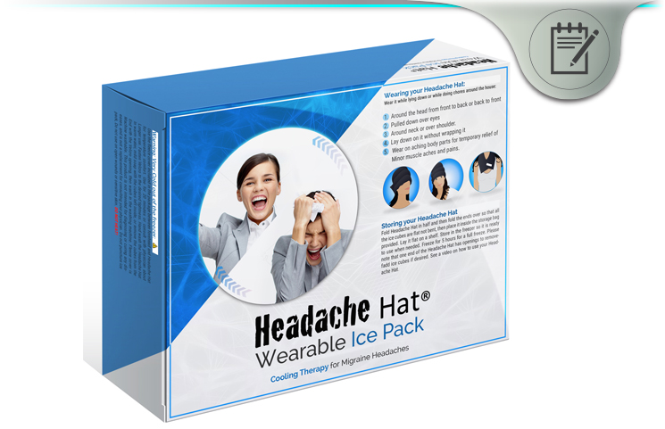 Headache Hat Review - Long Lasting Wearable Ice Pack For Migraines?