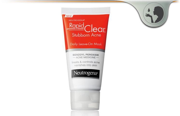 Neutrogena Rapid Clear Stubborn Acne – Benzoil Peroxide Mask?
