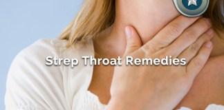 natural strep throat remedies