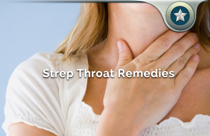 natural strep throat remedies