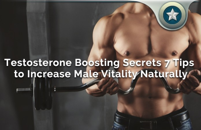 Testosterone Boosting Secrets 7 Tips to Increase Male Vitality Naturally