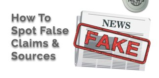 how to spot fake claims and sources