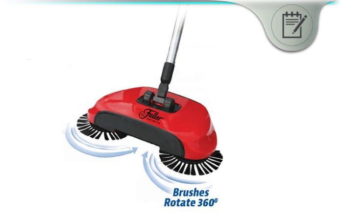 Easyedge Lightweight Hard Floor Sweeper Pleasing Qvc