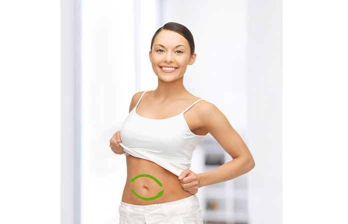 woman-happy-healthy-gut-stomach