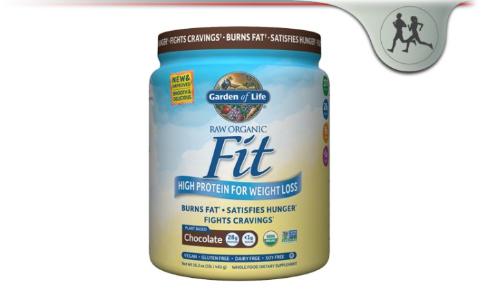 Garden of life raw organic fit protein powder for weight loss review for Garden of life raw cleanse reviews