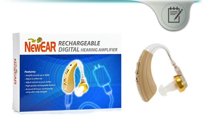 NewEar Quality Digital Hearing Amplifier