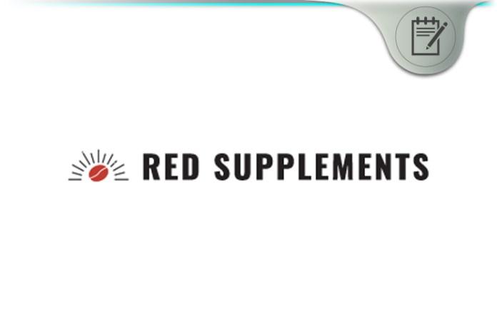Red Supplements Ice Cream Protein