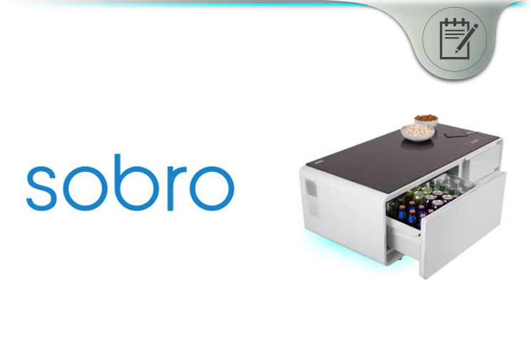 Sobro Review Smart Coffee Table With Refrigerator