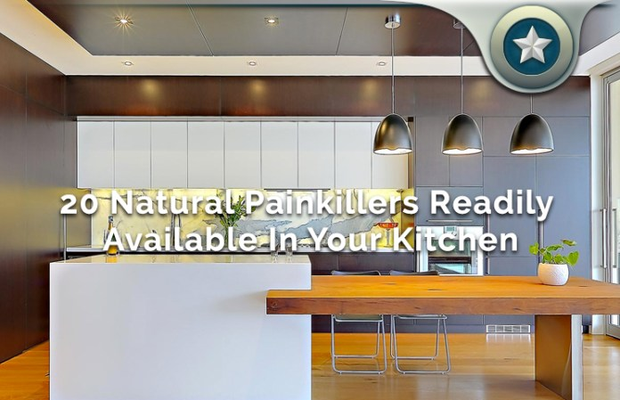 20 Natural Painkillers