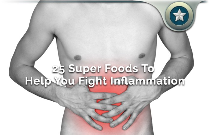 25 SuperFoods To Help You Fight Inflammation & Build Healthy Immunity