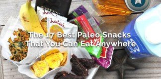 Top 17 Best Healthy Paleo Diet Food Snacks That You Can Eat Anywhere