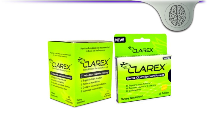 Clarex Mental Clarity Recovery Formula