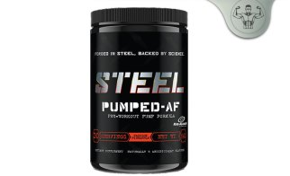 Steel Supplements Pumped AF Review - Pre-Workout Muscle Hydration Pump?