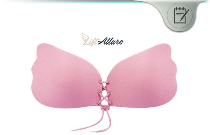 e04b7952a6 LiftAllure Push-Up Bra Review - Women s Stick-On Adjustable Cleavage ...