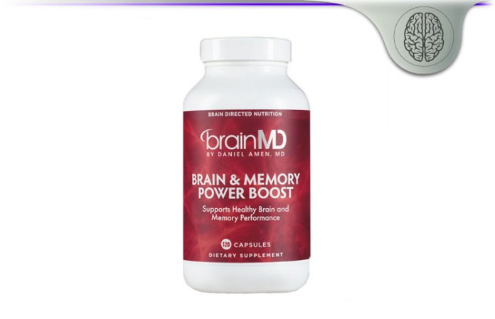 BrainMD Health Brain & Memory Power Boost