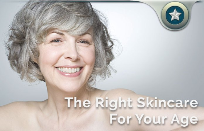 Skincare Tips For Ages 20s, 30s, 40s, 50s, 60s & 70s