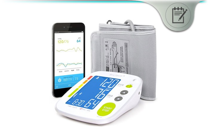 Greater Goods Balance Bluetooth Blood Pressure Monitor