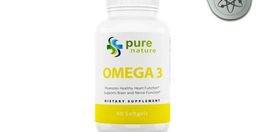 PureNature Omega 3 Fish Oil