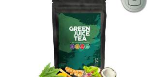 green juice tea