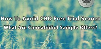 CBD Free Trial Scam Offers