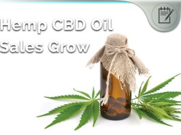 hemp cbd oil sales grow