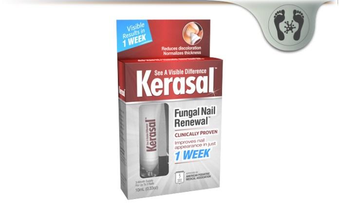 Kerasal Review - Fungal Nail Renewal & Intensive Foot Repair Benefits?