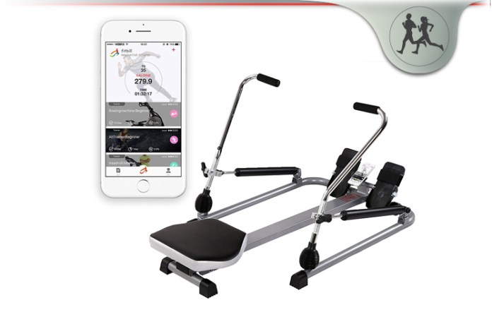 Fitbill smart rowing