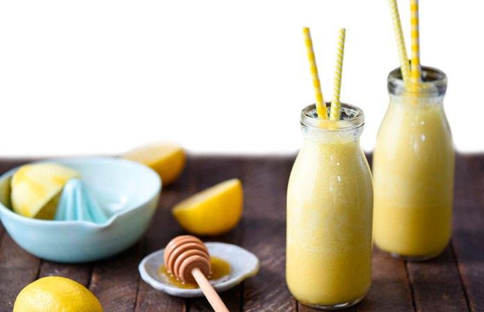 lemon honey smoothie