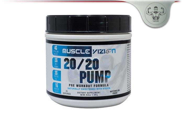 Muscle Vizion 20/20 PUMP Pre Workout