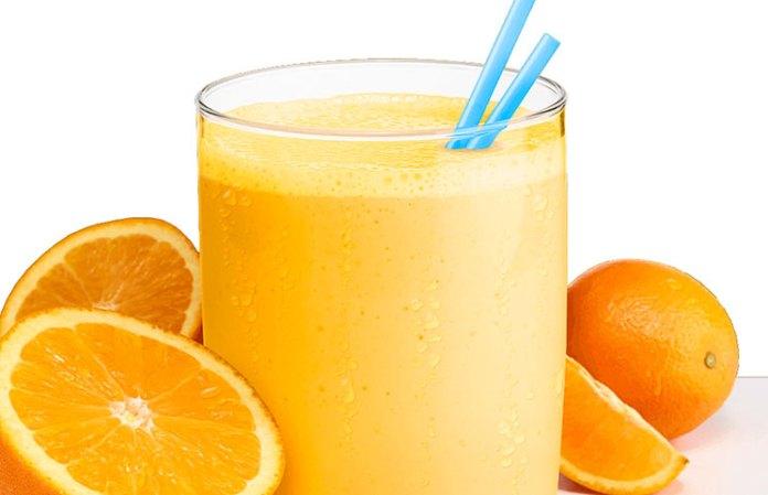 orange smoothie