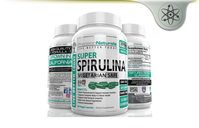 Precision Naturals Super Spirulina