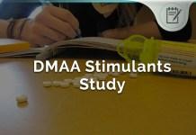 Harvard DMAA Stimulants Study