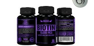 Meeka Nutrition Biotin