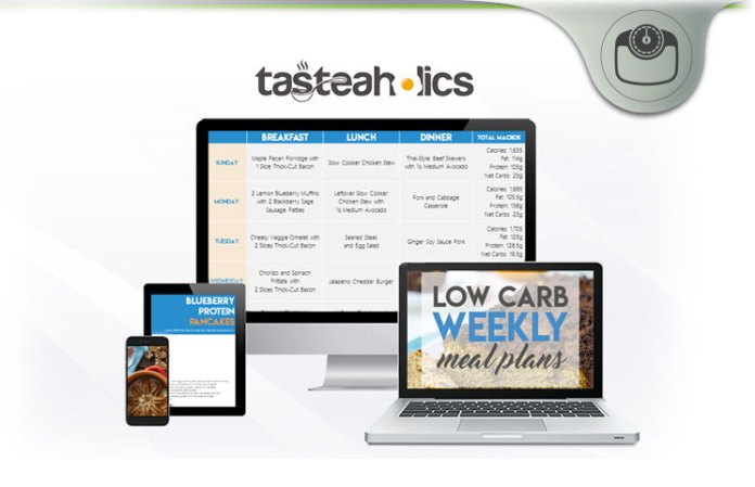 Tasteaholics Low Carb Recipes