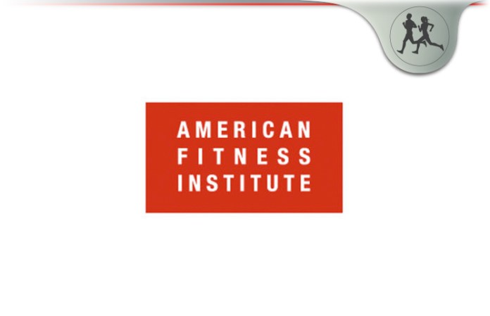 American Fitness Institute Review Personal Training Certification