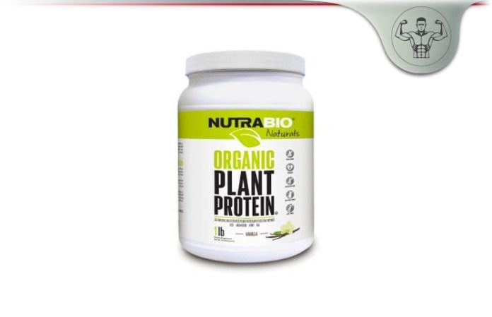 NutraBio Organic Vegan Plant Protein