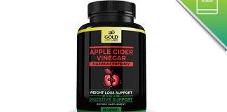 apple cider vinegar by gold life labs