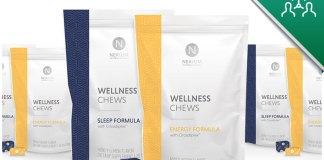 Nerium Wellness Chews Energy & Sleep Formula