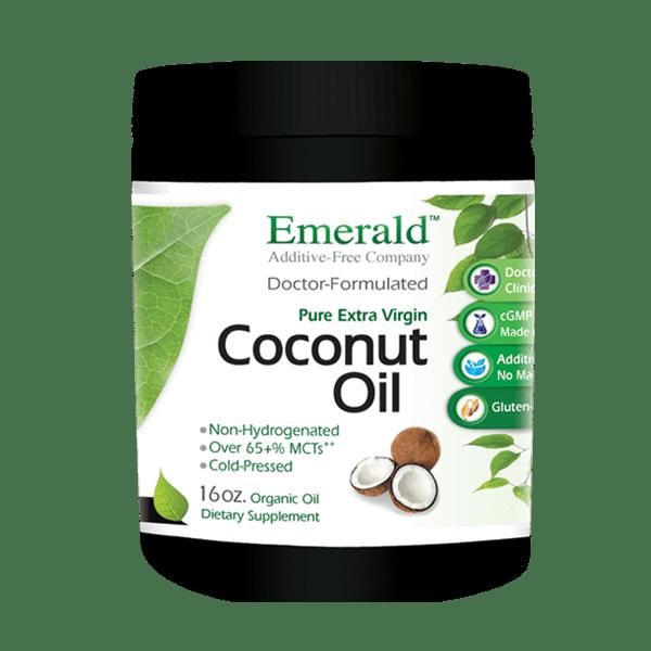 Emerald Cocount Oil (16oz) Bottle