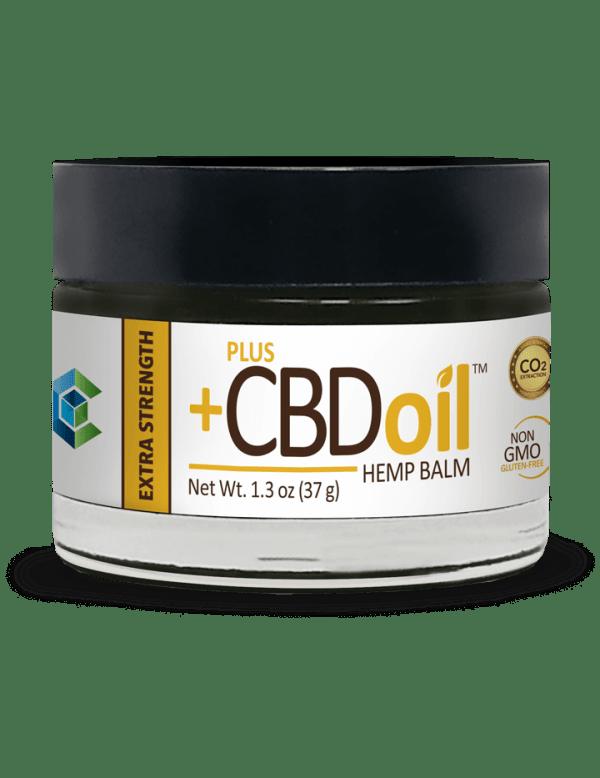 Plus CBD Oil Balm Extra Strength 1.3 oz