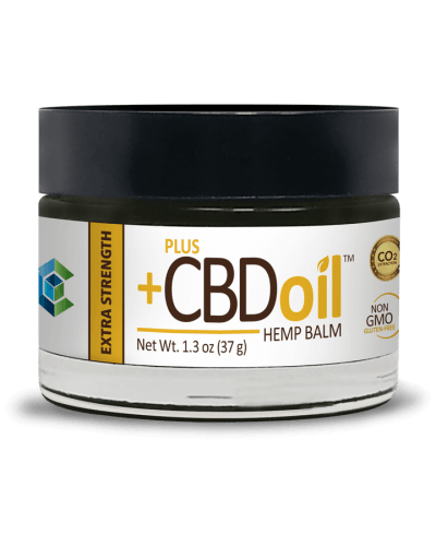 Plus CBD Oil Balm Extra Strength 1.3 oz