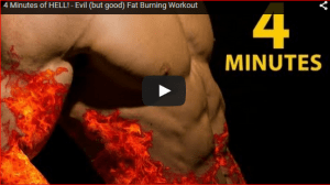 4 Minutes Excellent Fat Burning Routine