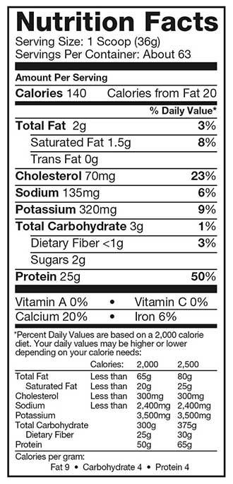 Dymatize-Elite-100%-Whey-Protein-nutrition-fact-