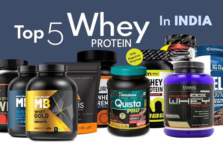 Top 5 Best Whey Protein in India for 2020 (Guaranteed Results)