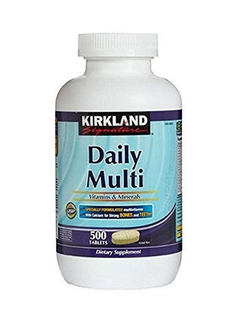 Kirkland Multivitamins & Minerals Tablets review