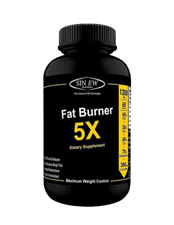 Sinew Nutrition Natural Fat Burner 5X