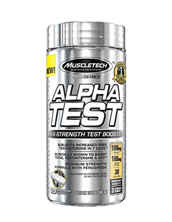 Muscletech Alpha Test Pro Series Review