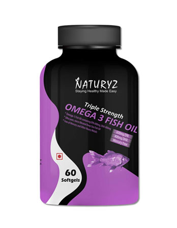 Naturyz Triple Strength Omega 3 Fish Oil
