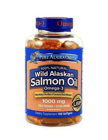 Pure Alaska Omega-3 Wild Alaskan Salmon Oil 1000mg Review