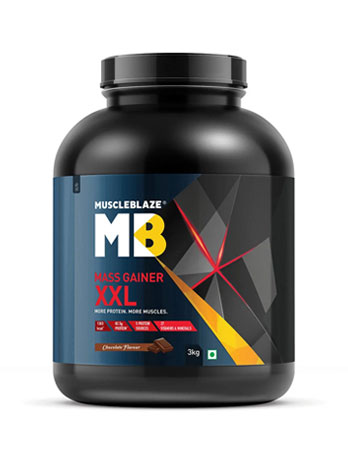 MuscleBlaze Mass Gainer XXL
